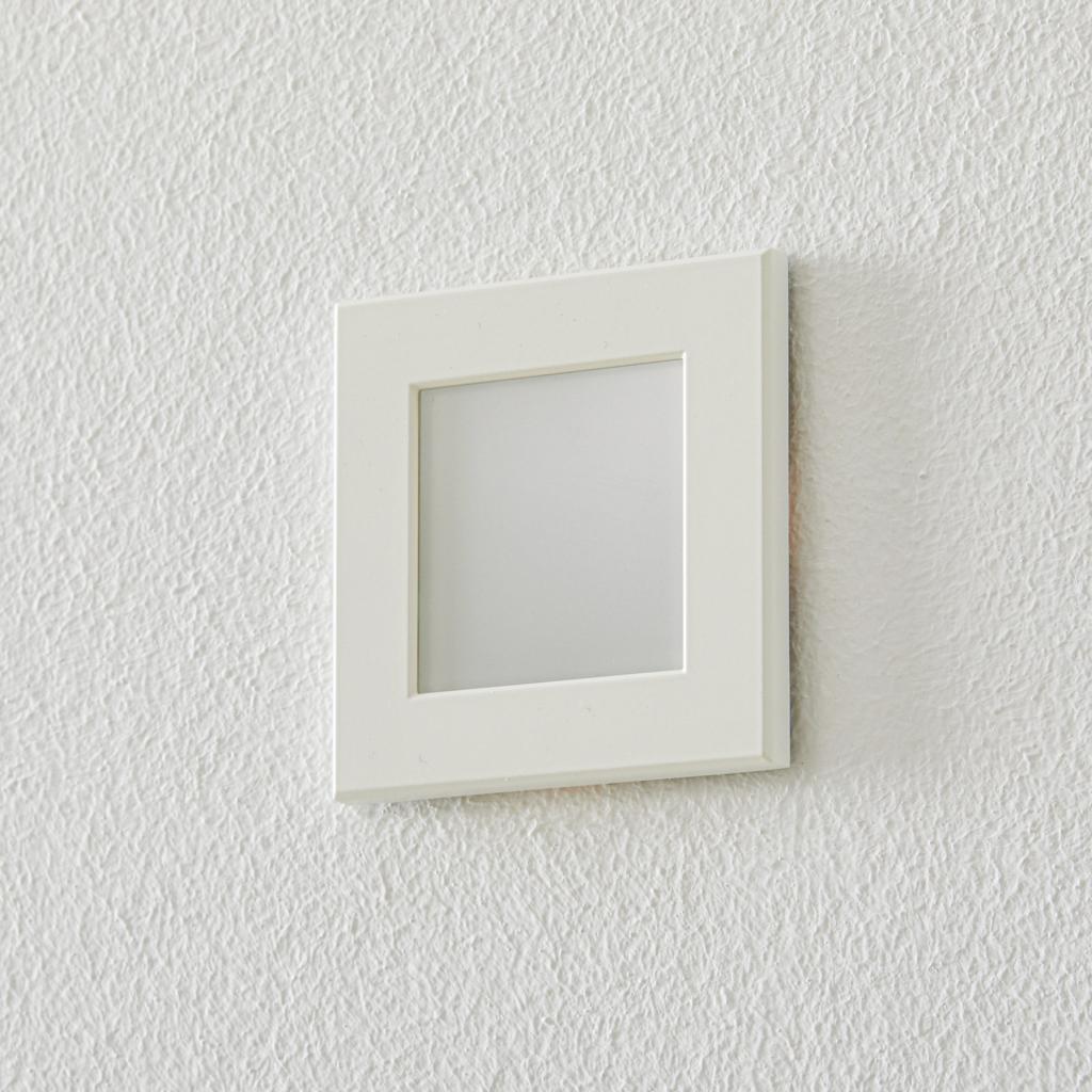 Produktové foto BEGA BEGA Accenta světlo hranaté rám bílý 315lm