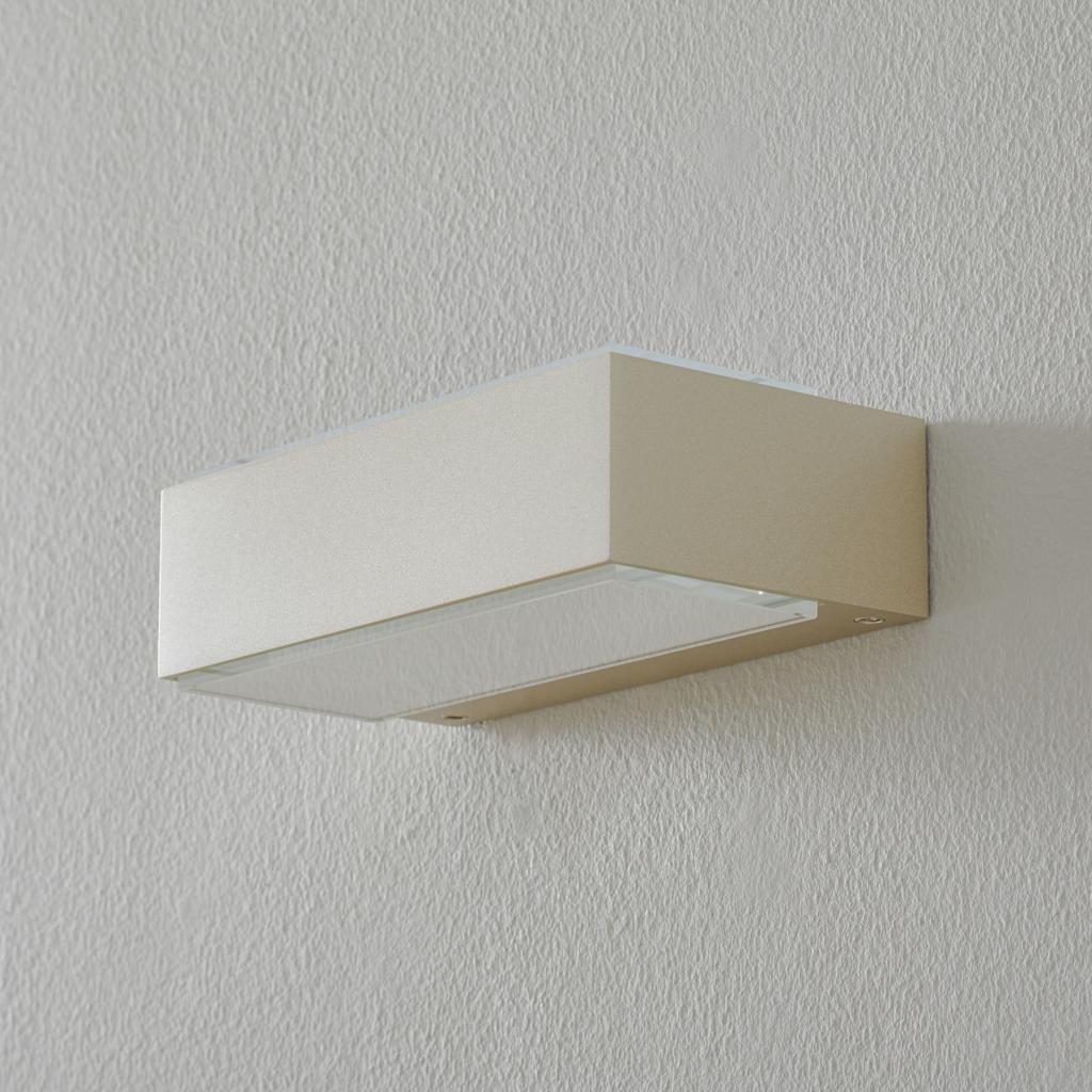 Produktové foto BEGA BEGA 12277 nástěnné světlo 3000K 20cm palladium