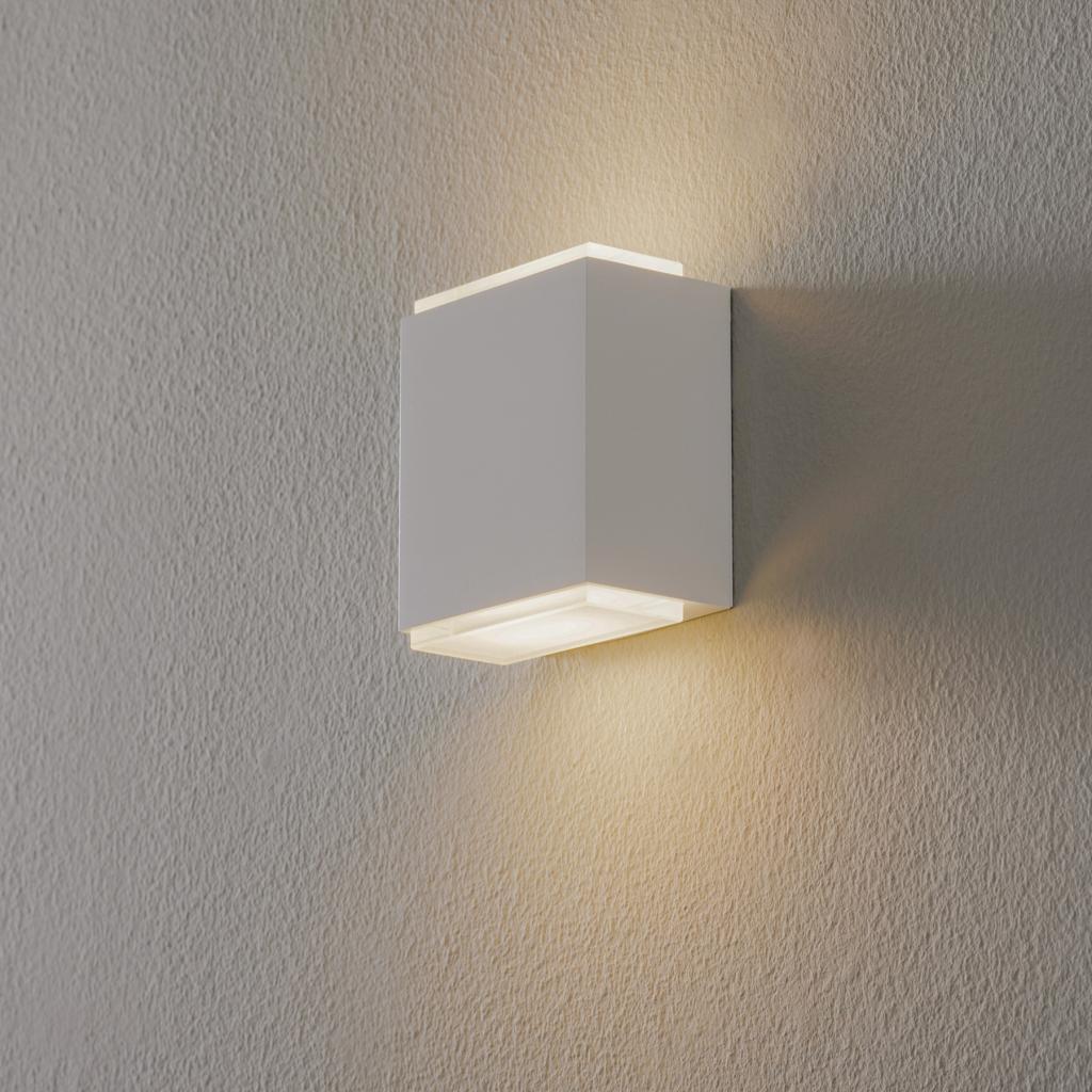 Produktové foto BEGA BEGA 23013 LED nástěnné světlo 3000K 9cm, bílé