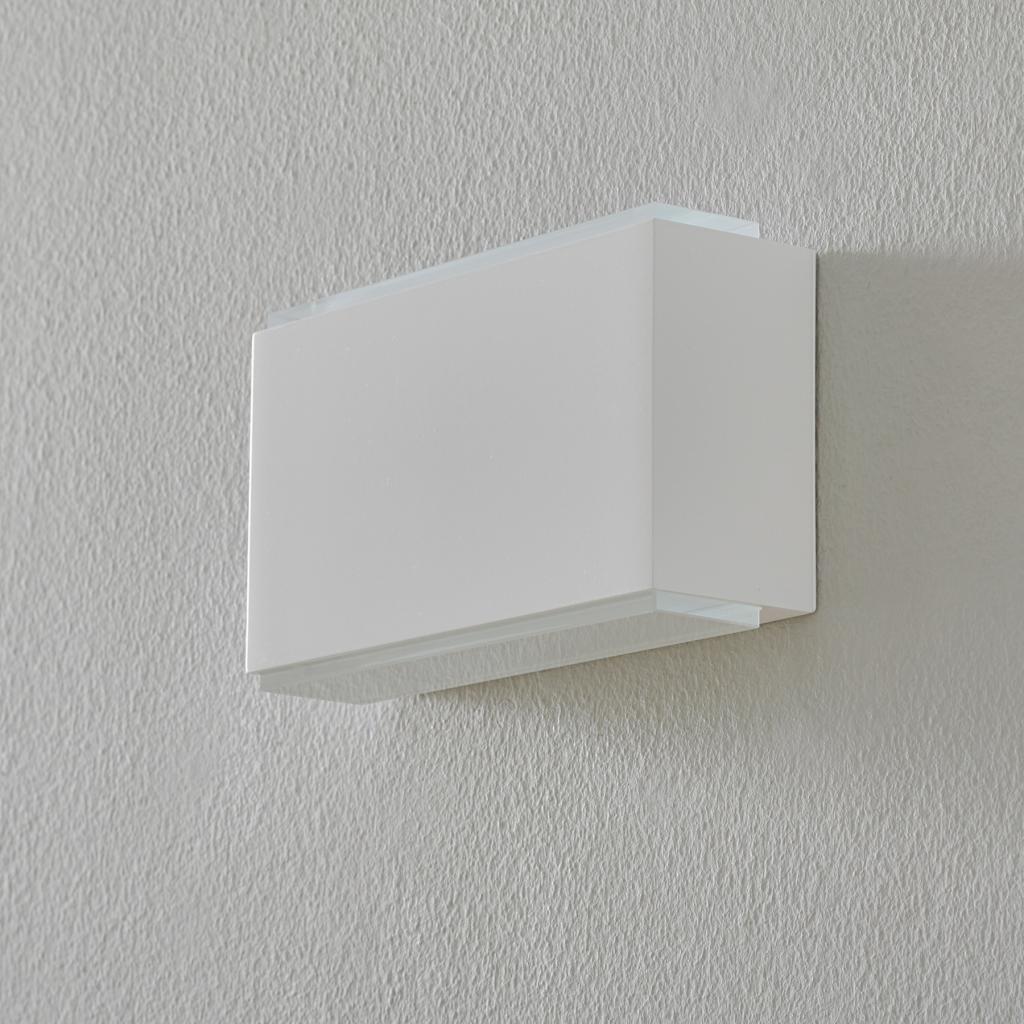 Produktové foto BEGA BEGA 23015 LED nástěnné světlo 3000K 18cm bílé