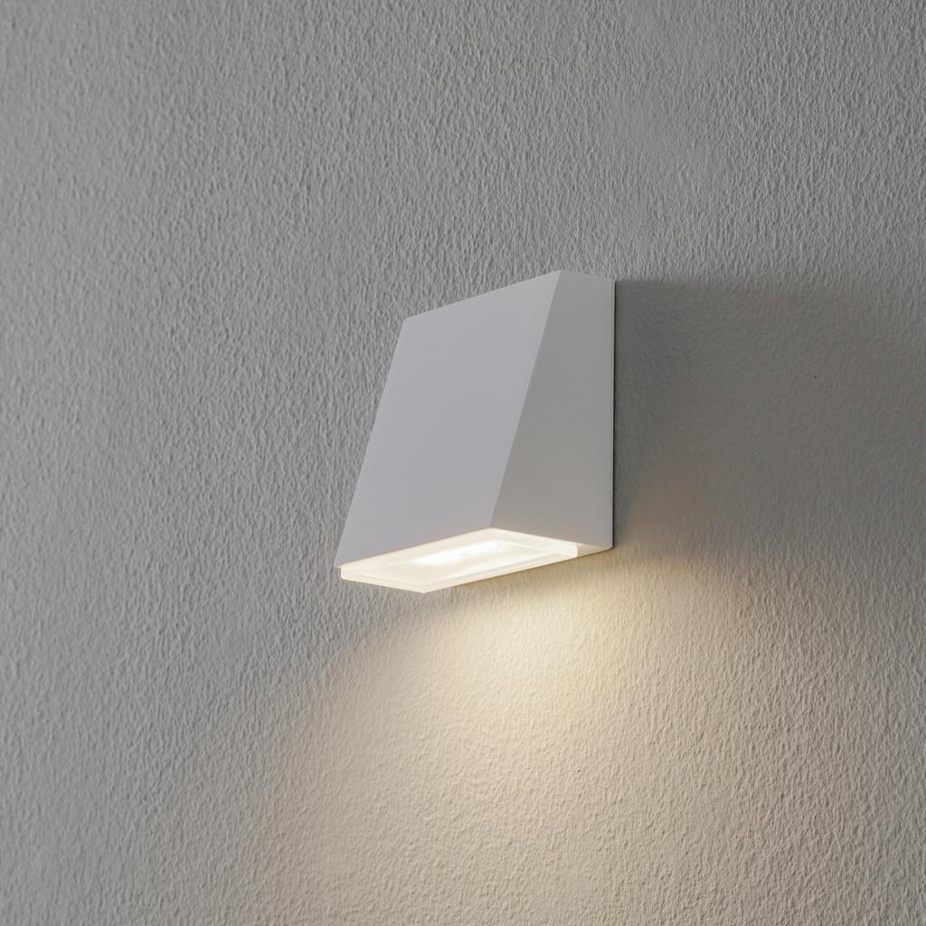 Produktové foto BEGA BEGA 78047 nástěnné světlo 3000K 9cm bílá 255lm