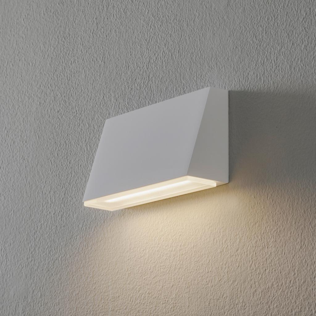 Produktové foto BEGA BEGA 50071 nástěnné světlo 3000K 18cm bílá 770lm