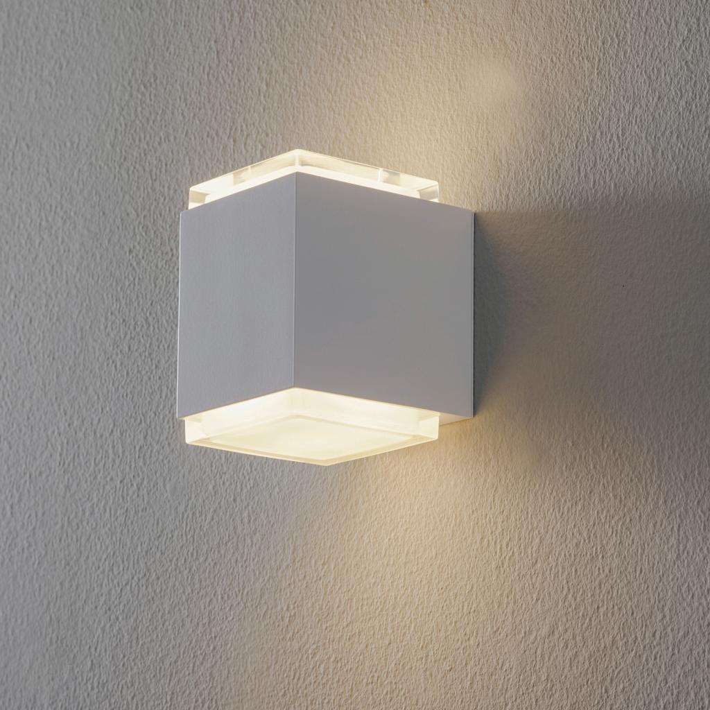 Produktové foto BEGA BEGA 50063 LED nástěnné světlo 3000K 9 cm bílá