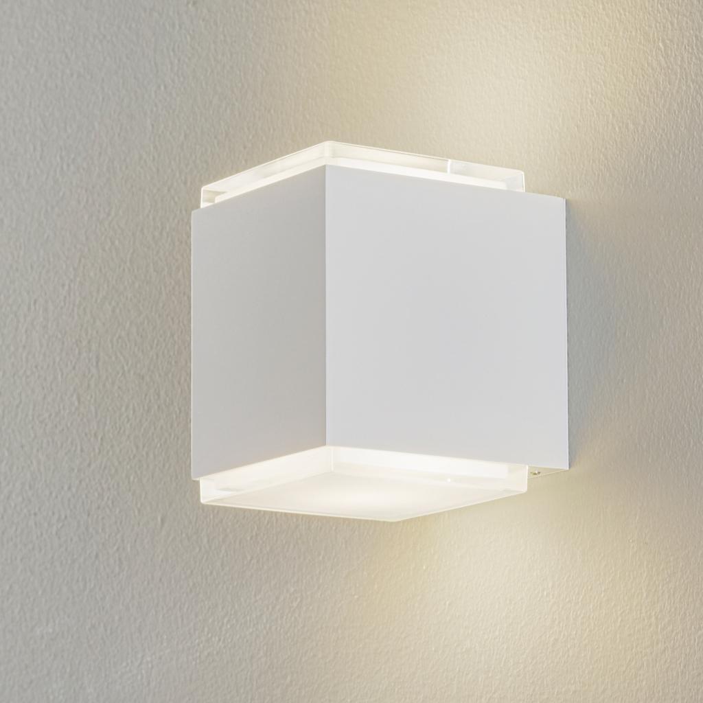 Produktové foto BEGA BEGA 50064 nástěnné světlo 3000K 12cm DALI bílá