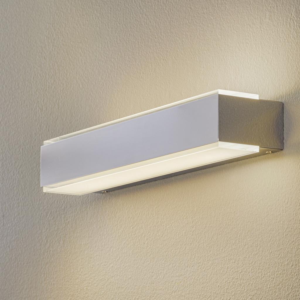 Produktové foto BEGA BEGA 78625 LED nástěnné světlo 40 cm chrom, 3 000K