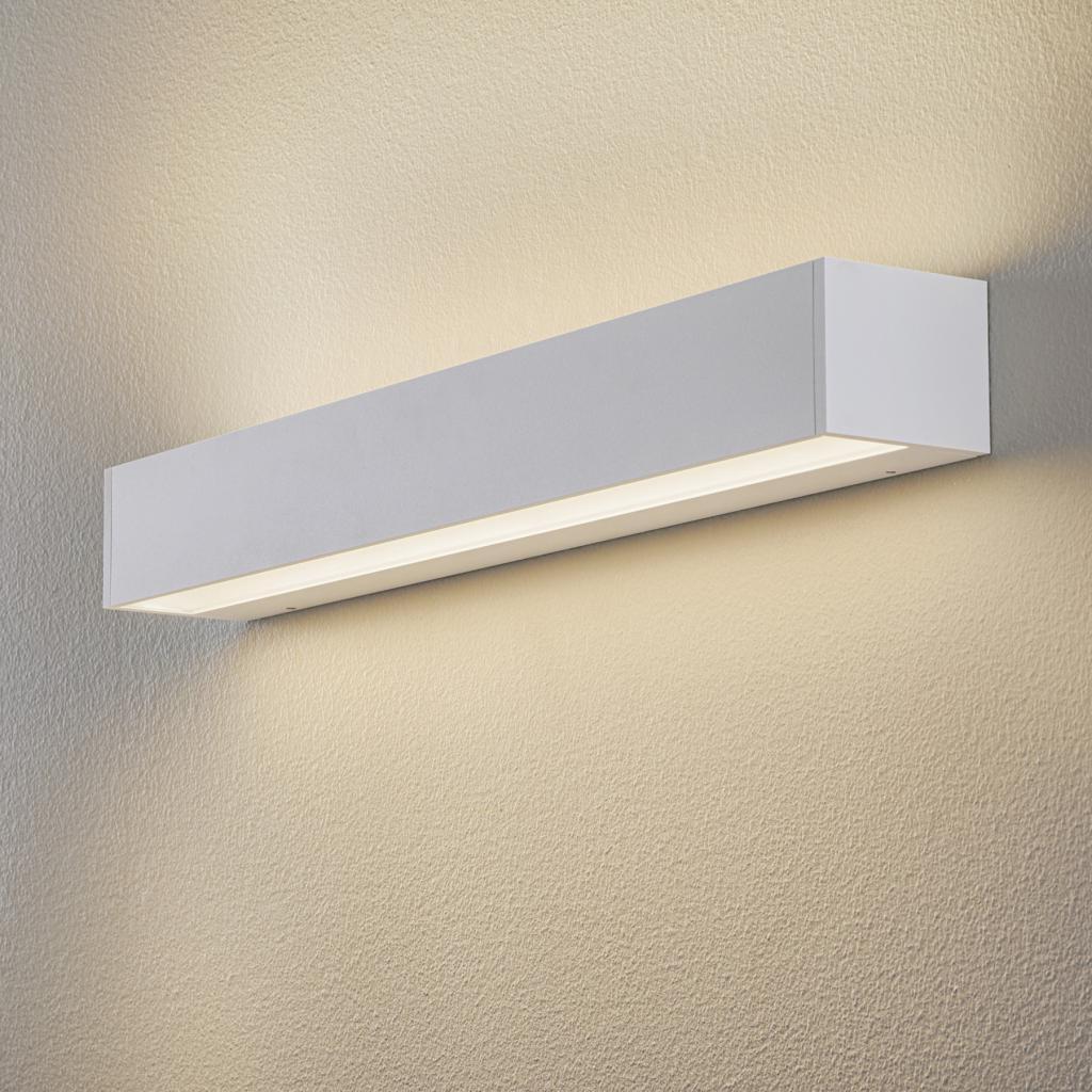 Produktové foto BEGA BEGA 50804 nástěnné světlo 930 bílá 62cm, 6 180lm