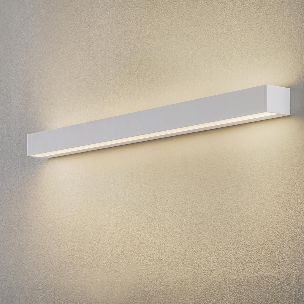 Produktové foto BEGA BEGA 50802 nástěnné světlo 930 bílá 122cm, 7520lm