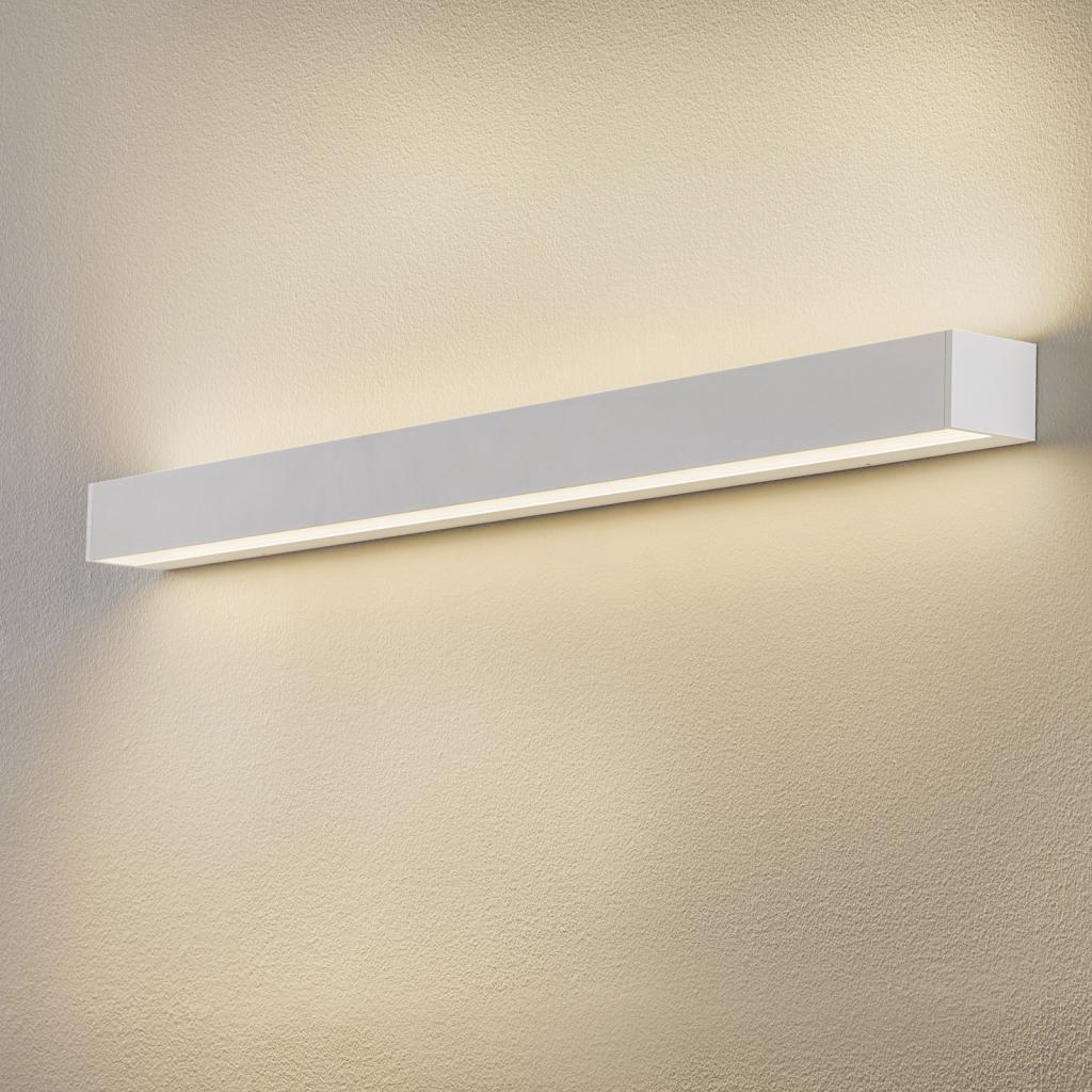 Produktové foto BEGA BEGA 50806 nástěnné světlo 930 bílá 122cm 12360lm