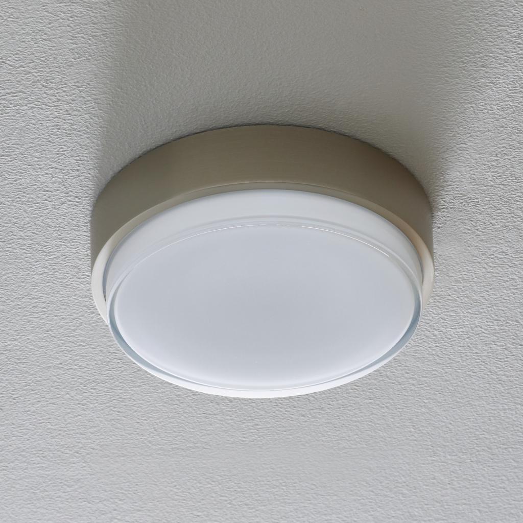 Produktové foto BEGA BEGA 50537 stropní světlo DALI 3000K nerez Ø26cm