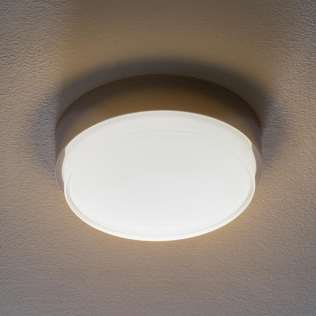 Produktové foto BEGA BEGA 50537 stropní světlo DALI 3000K chrome Ø26cm