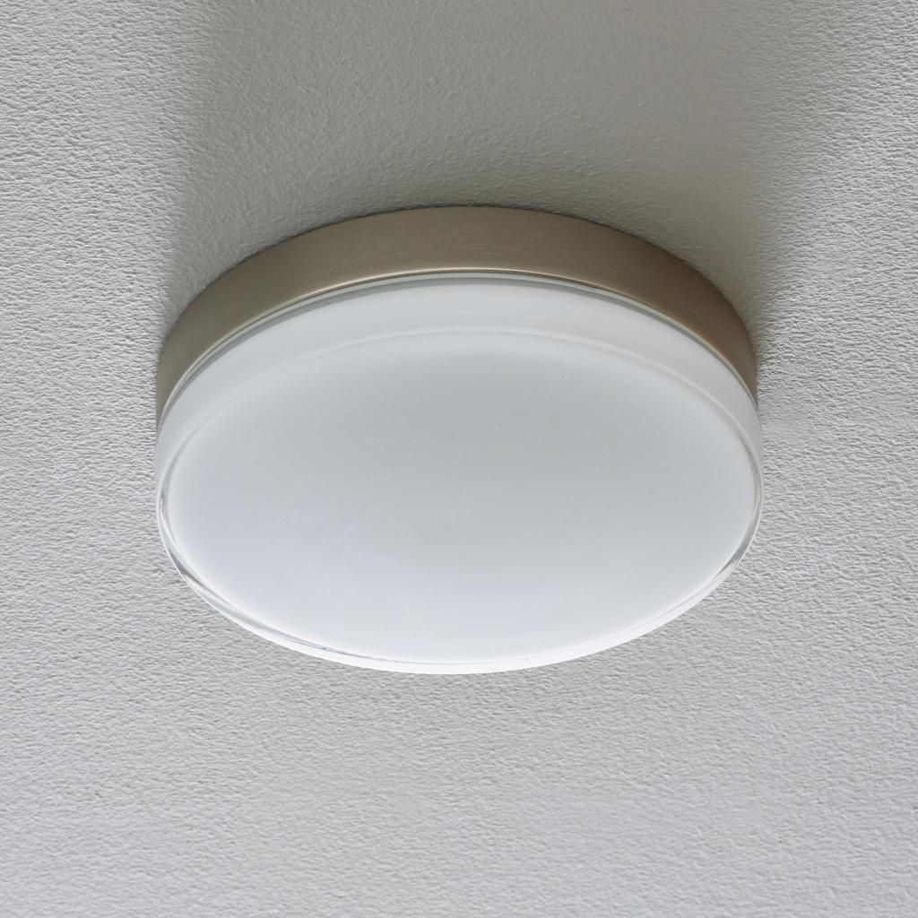 Produktové foto BEGA BEGA 12128 LED stropní světlo DALI 930 ocel 26cm