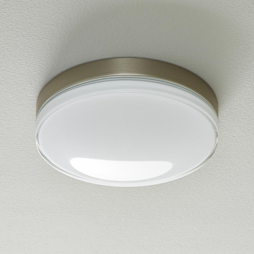 Produktové foto BEGA BEGA 12128 LED stropní světlo DALI 930 ocel 30,5cm