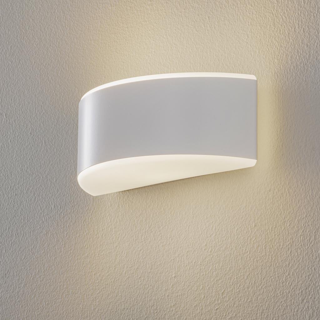 Produktové foto BEGA BEGA Prima nástěnné světlo slona bílá 25,4cm