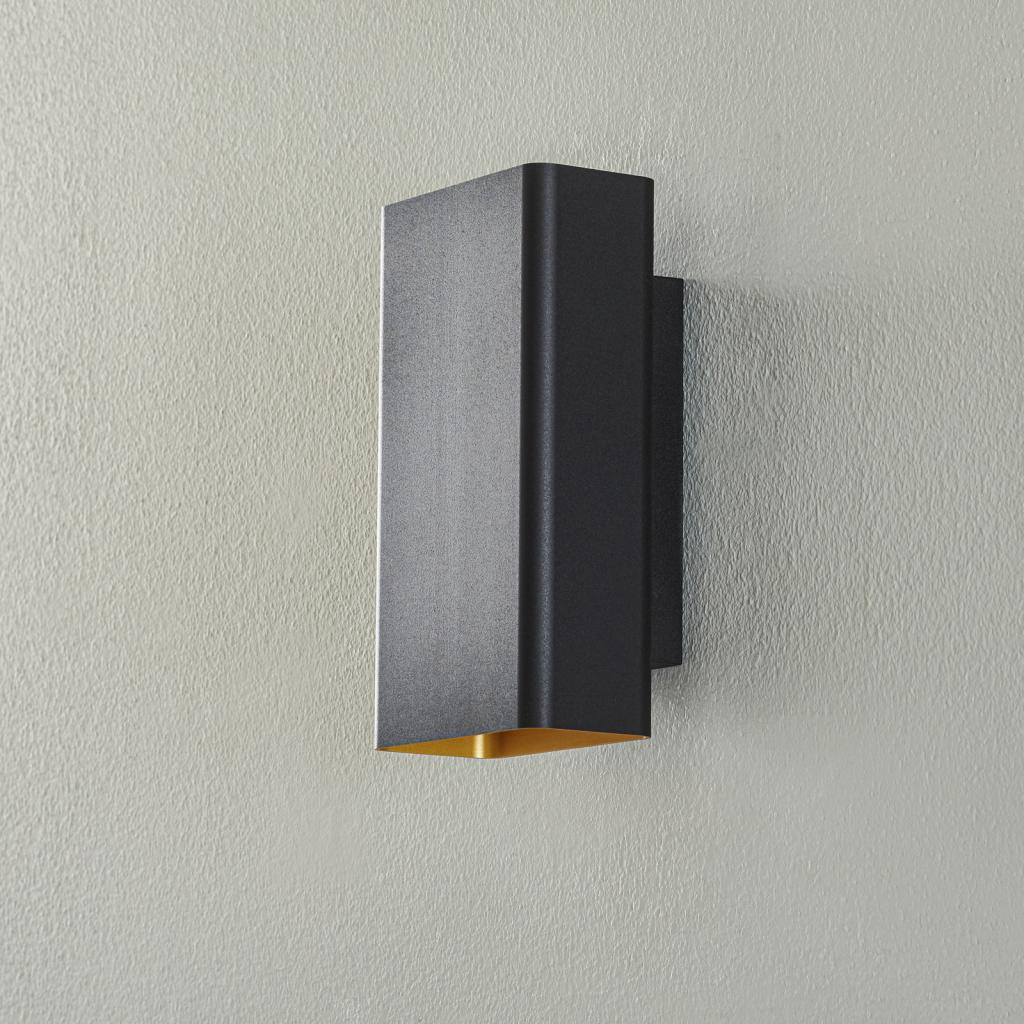 Produktové foto BEGA BEGA Studio Line nástěnné štíhlé černé/zlaté 22