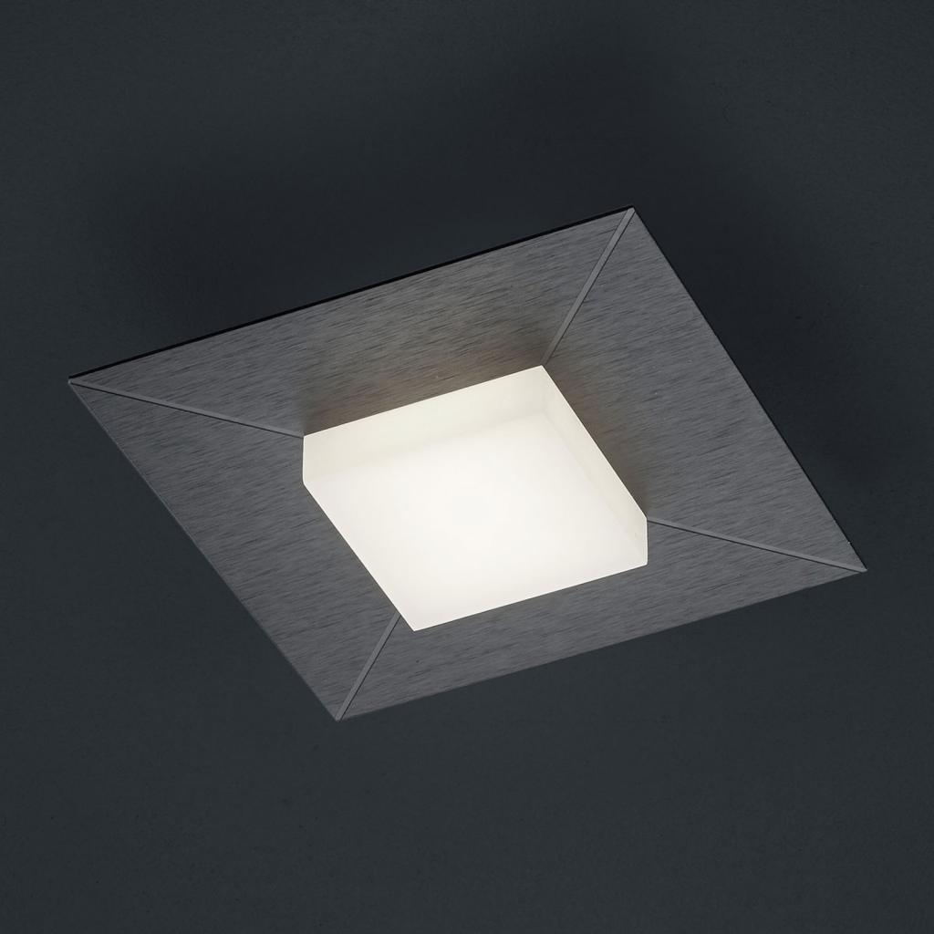 Produktové foto BANKAMP BANKAMP Diamond stropní světlo 17x17cm, antracit