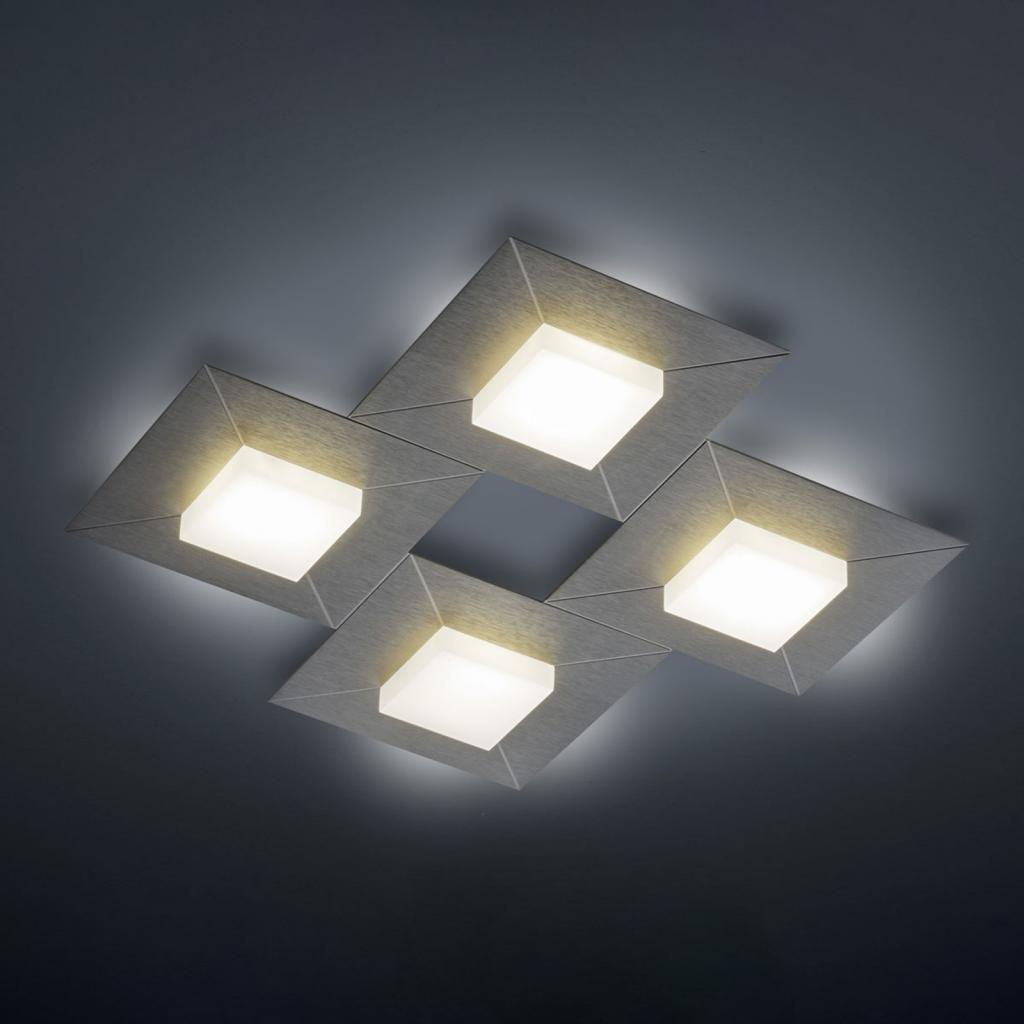 Produktové foto BANKAMP BANKAMP Diamond stropní světlo 42x42cm antracit