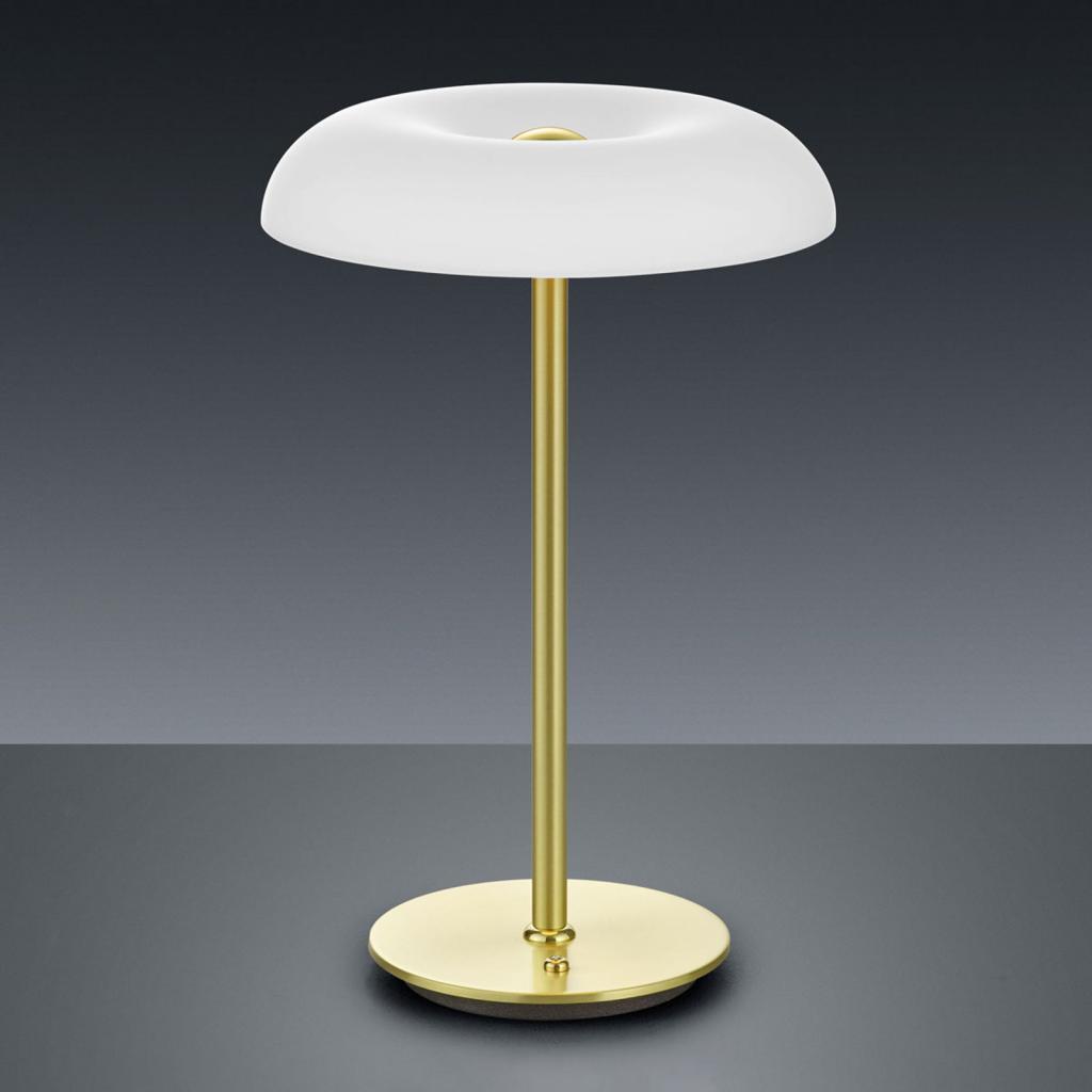 Produktové foto BANKAMP BANKAMP Vanity LED stolní lampa stmívač mosaz