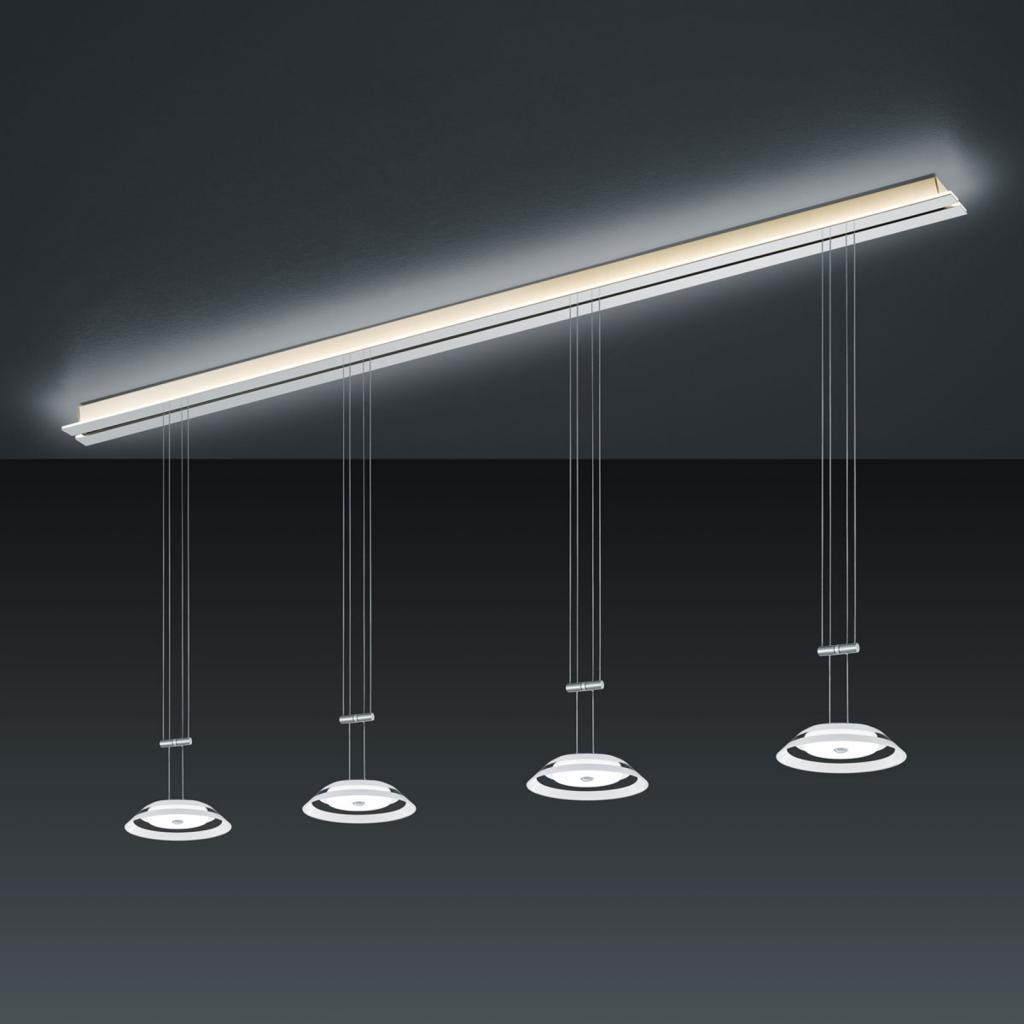 Produktové foto BANKAMP BANKAMP Strada Callas závěsné světlo, 4x 185 cm