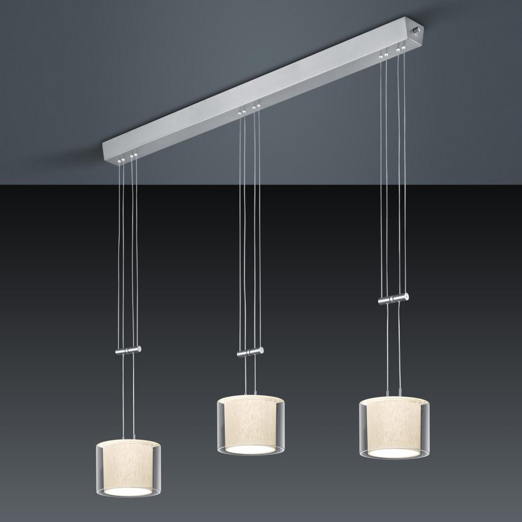 Produktové foto BANKAMP BANKAMP Cecil LED závěsné světlo, tři zdroje