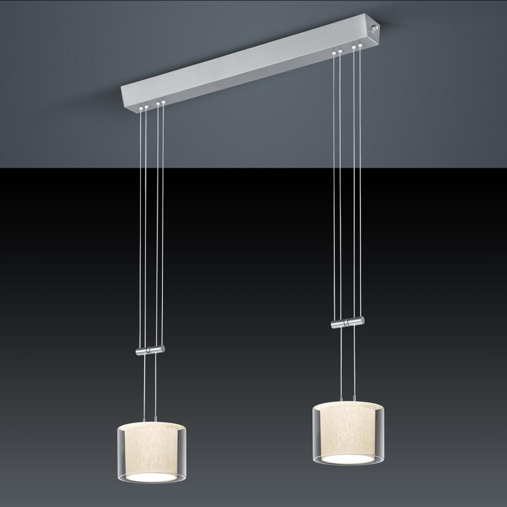 Produktové foto BANKAMP BANKAMP Cecil LED závěsné světlo, dva zdroje