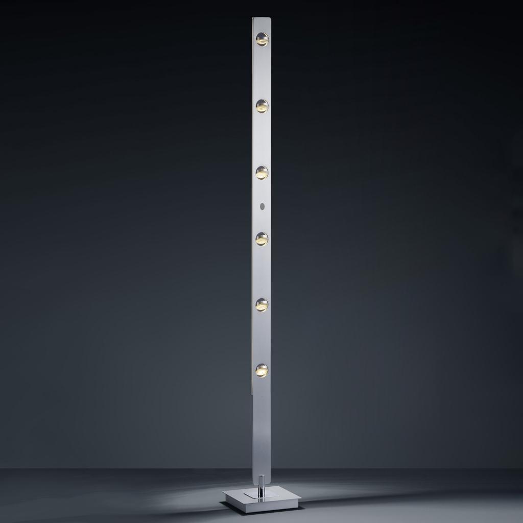 Produktové foto BANKAMP BANKAMP Caro LED stojací lampa ovládání gesty alu