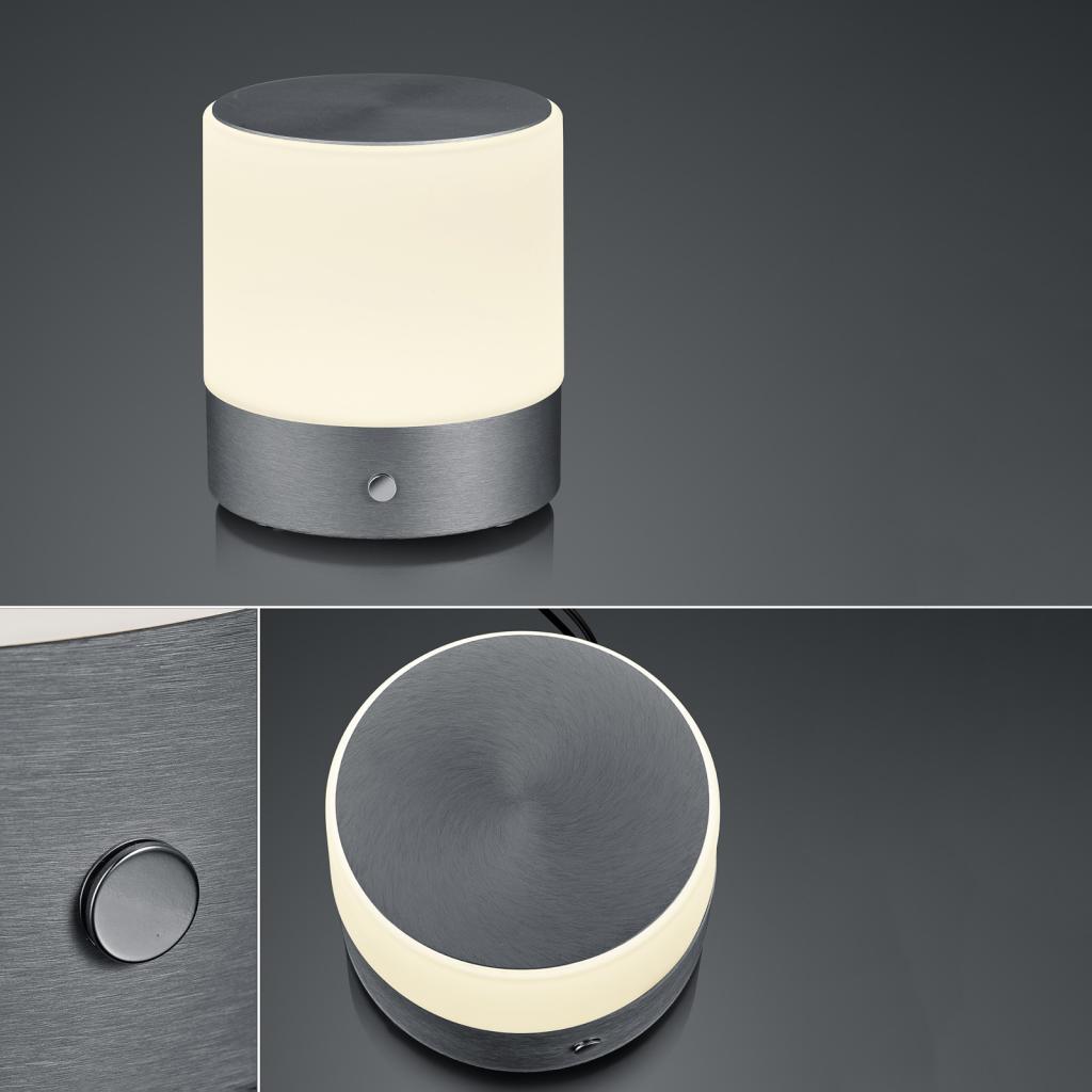 Produktové foto BANKAMP BANKAMP Button stolní lampa výška 18,5cm antracit
