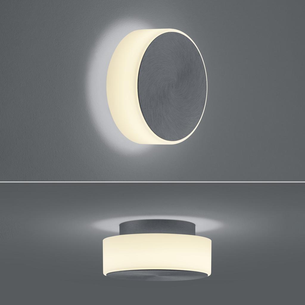 Produktové foto BANKAMP BANKAMP Button LED nástěnné světlo 15,5cm antracit