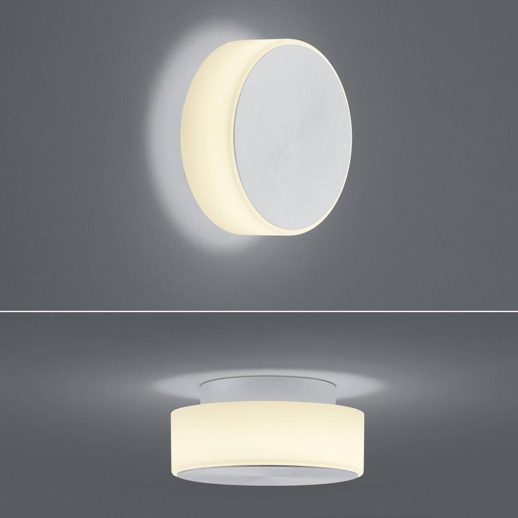 Produktové foto BANKAMP BANKAMP Button LED nástěnné světlo, 15,5cm, hliník