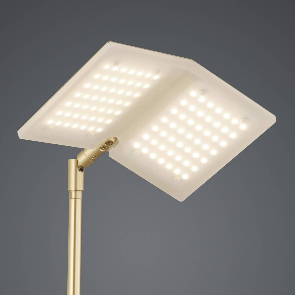 Produktové foto BANKAMP BANKAMP Book stojací lampa LED, mosaz