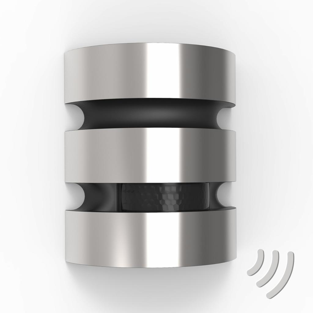 Produktové foto Eco-Light Nerez LED venkovní nástěnné světlo Maya senzor