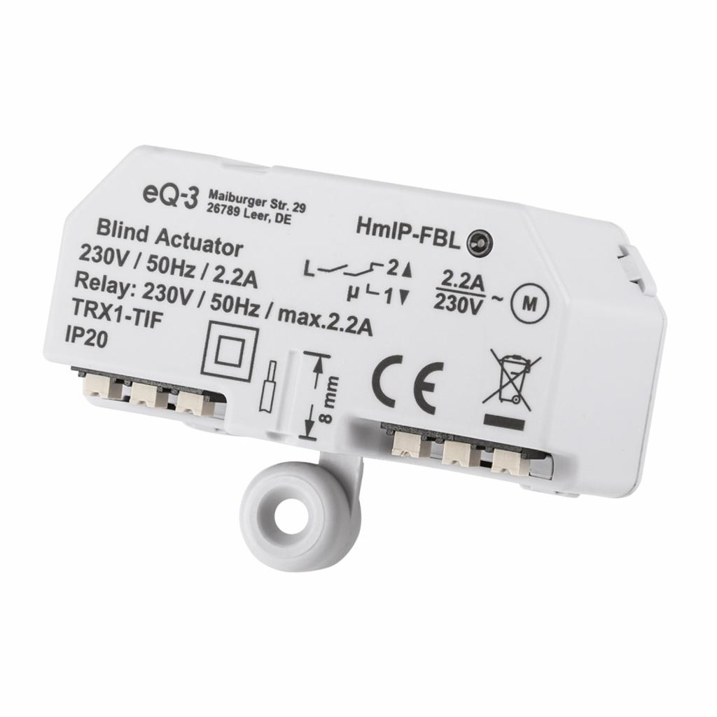 Produktové foto HOMEMATIC IP Homematic IP ovladač žaluzií pod omítku/na omítku