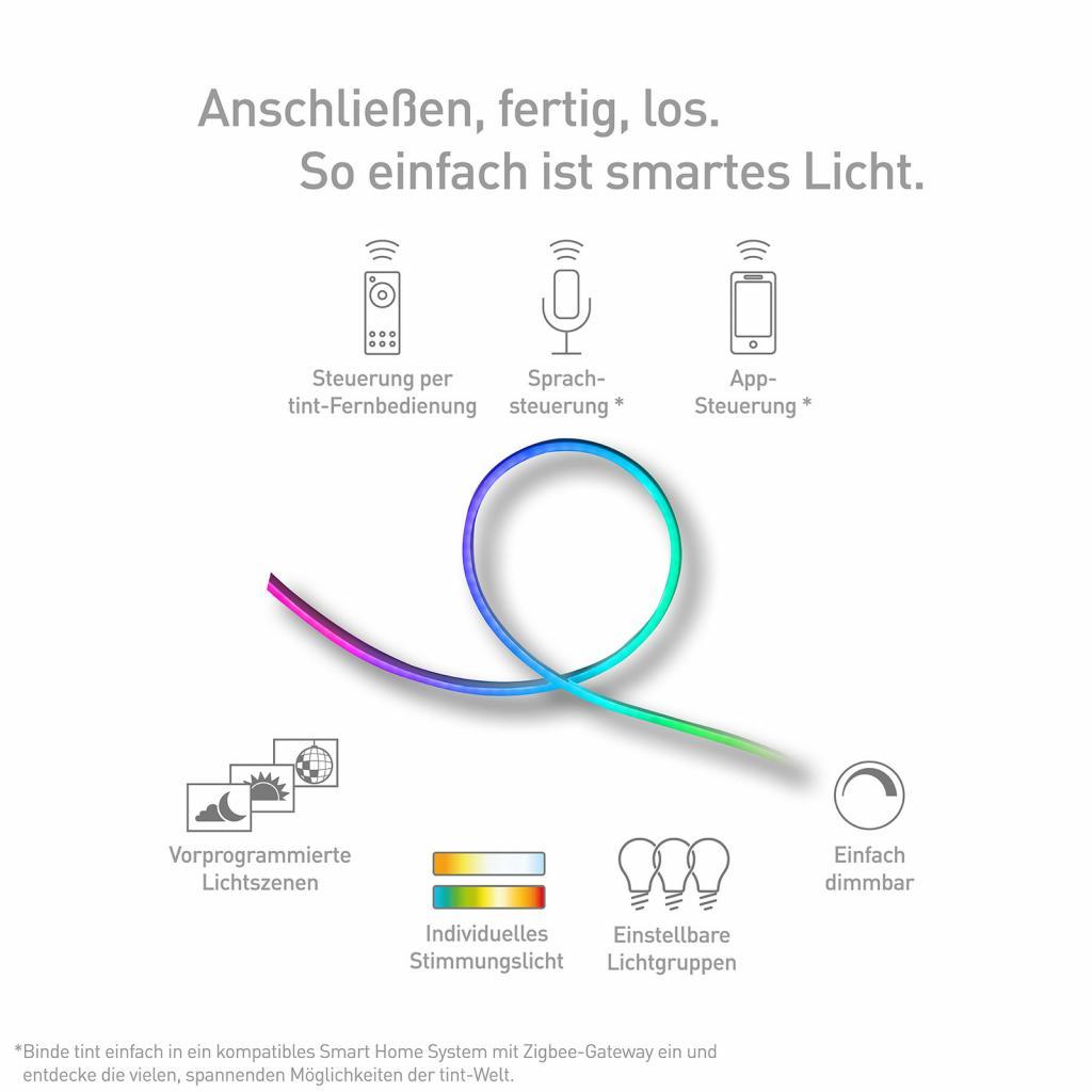 Produktové foto TINT Müller Licht tint LED pásek Outdoor, 500 cm
