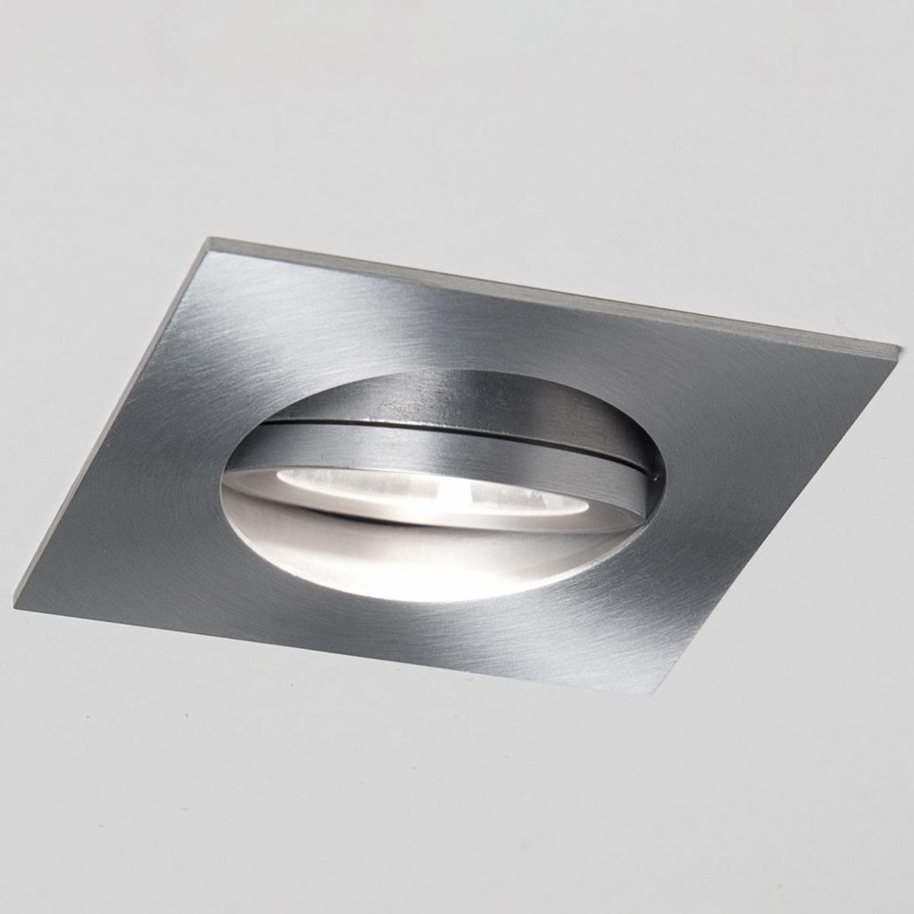 Produktové foto Molto Luce LED podhledové světlo Agon Square Al 3000K 40°