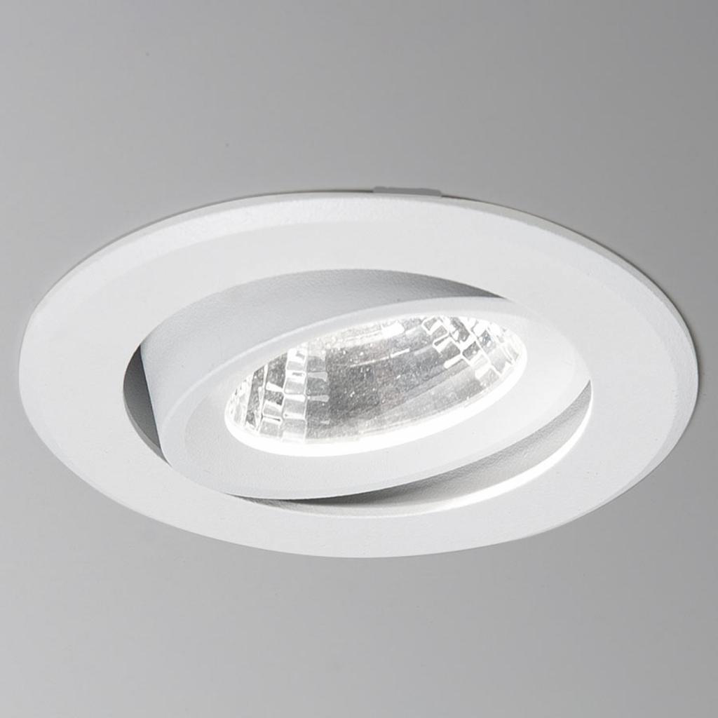 Produktové foto Molto Luce Agon Round LED podhledové světlo 3000K 40° bílá