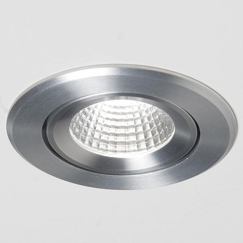 Produktové foto Molto Luce Agon Round LED spot 3000K 40° hliník kartáčovaný