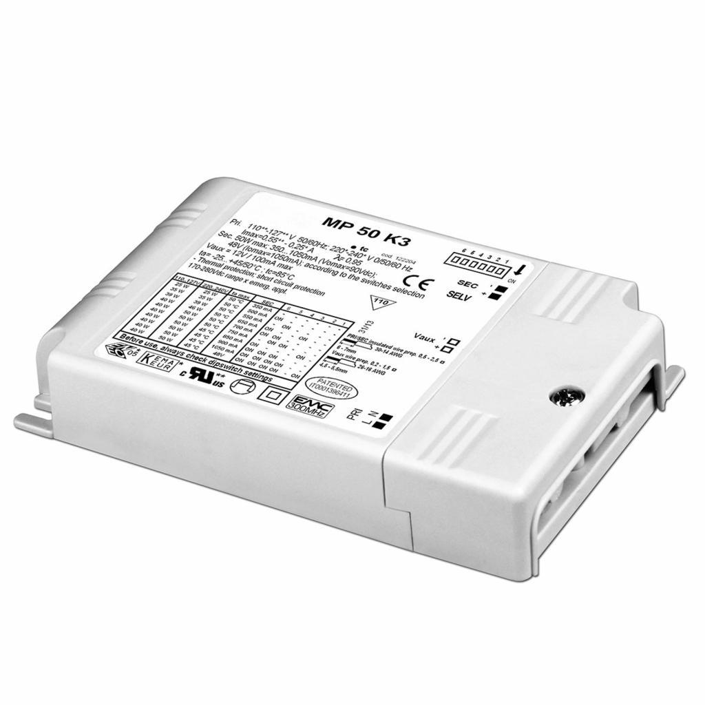 Produktové foto Molto Luce LED konvertor MP 50 K3, nastavitelný nestmívatelný