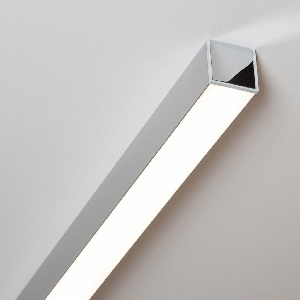Produktové foto Molto Luce LED stropní světlo Ride 57,7 cm, hliník eloxovaný