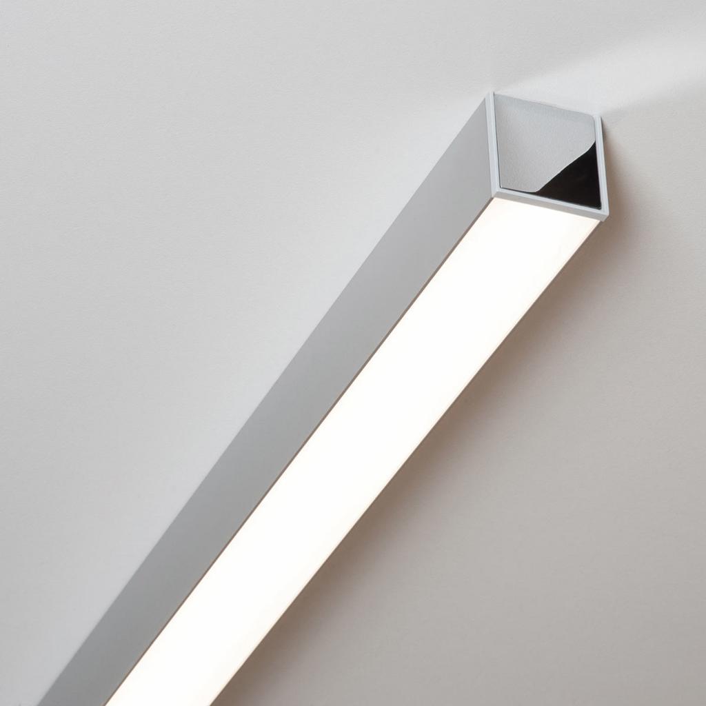 Produktové foto Molto Luce Ride LED stropní světlo hliník eloxovaný, 85,7 cm