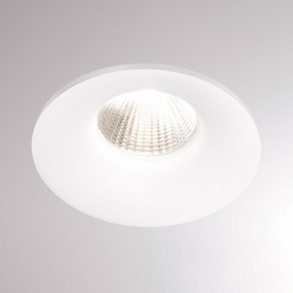 Produktové foto Molto Luce LED podhledové světlo Ivy Round 7W 3000K 40° bílá
