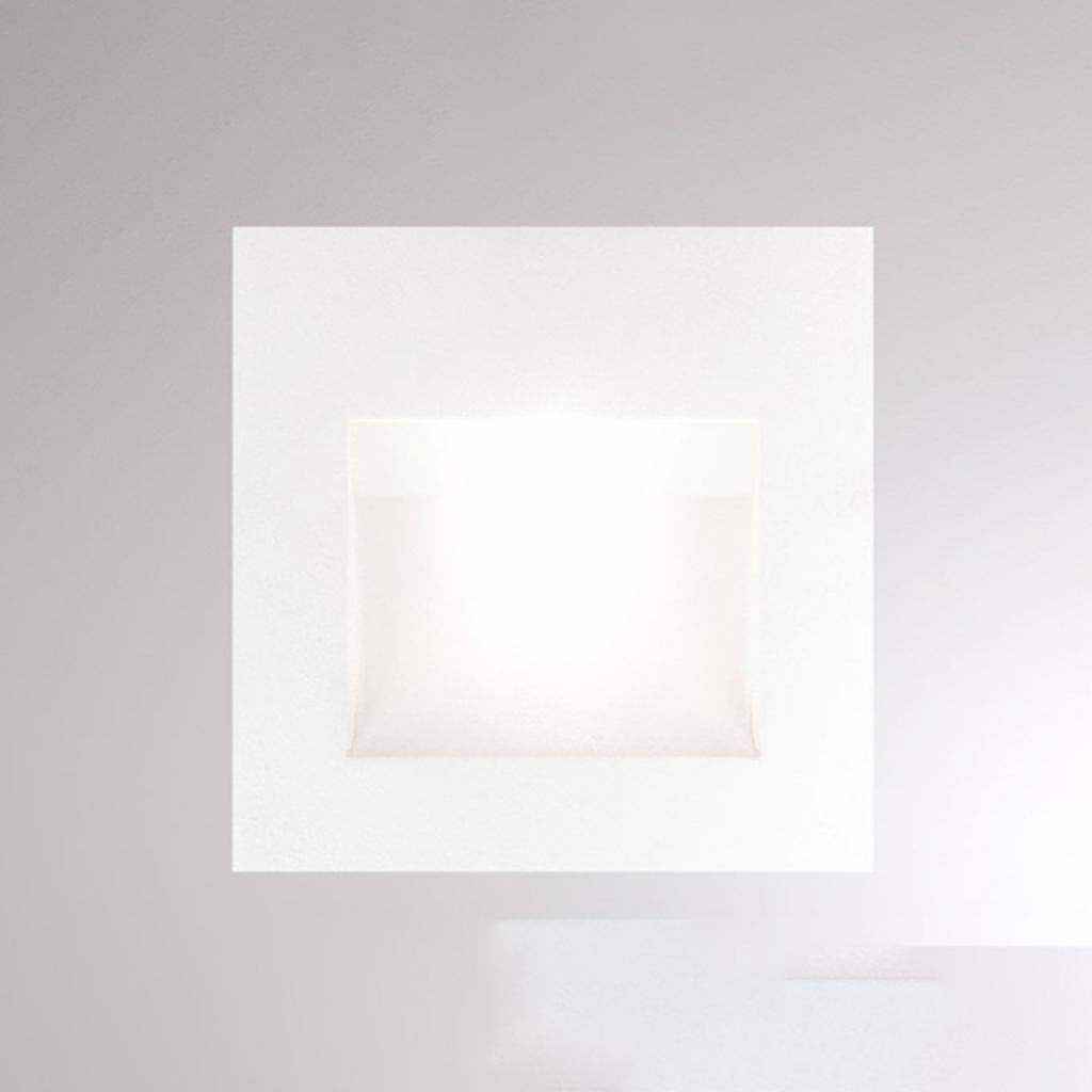 Produktové foto Molto Luce LED nástěnné zapuštěné světlo Pan, bílá