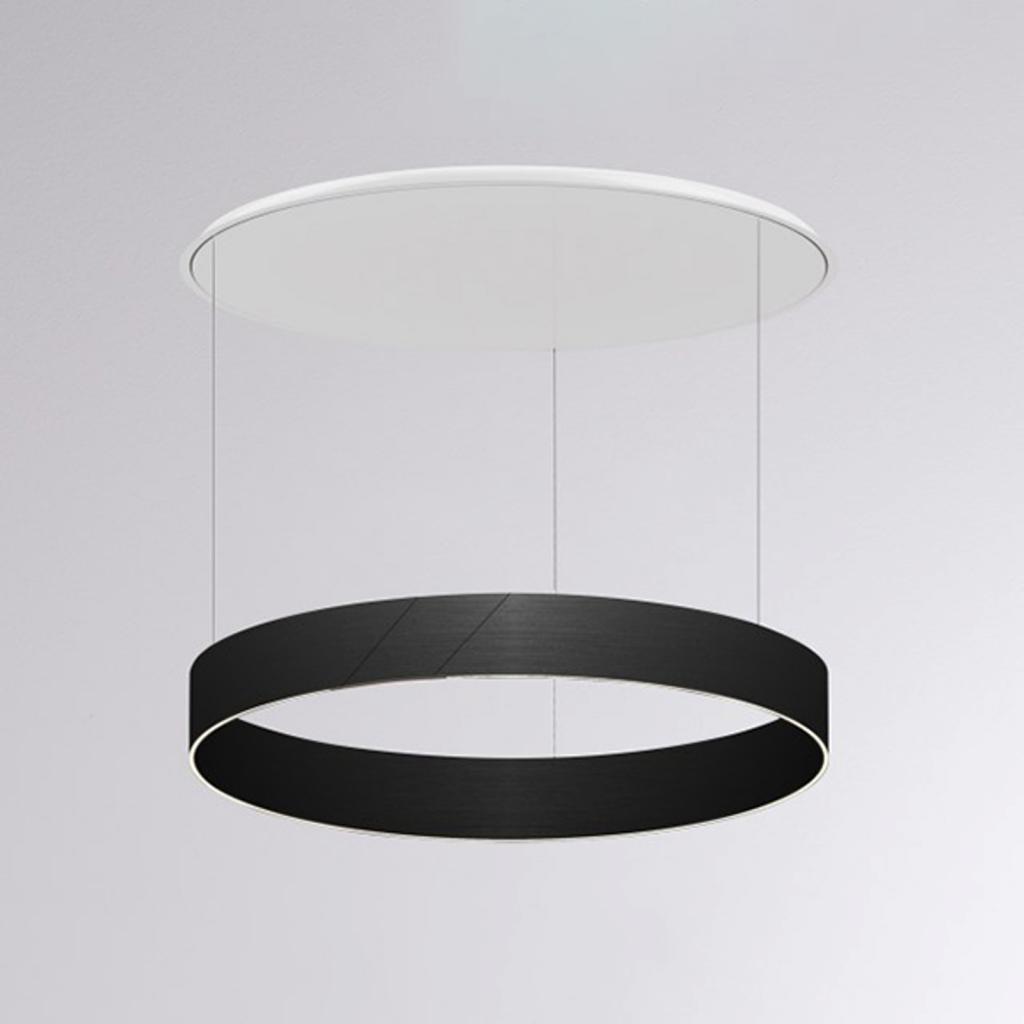 Produktové foto Molto Luce LED závěsné světlo After 8 Round DALI 2700K černá