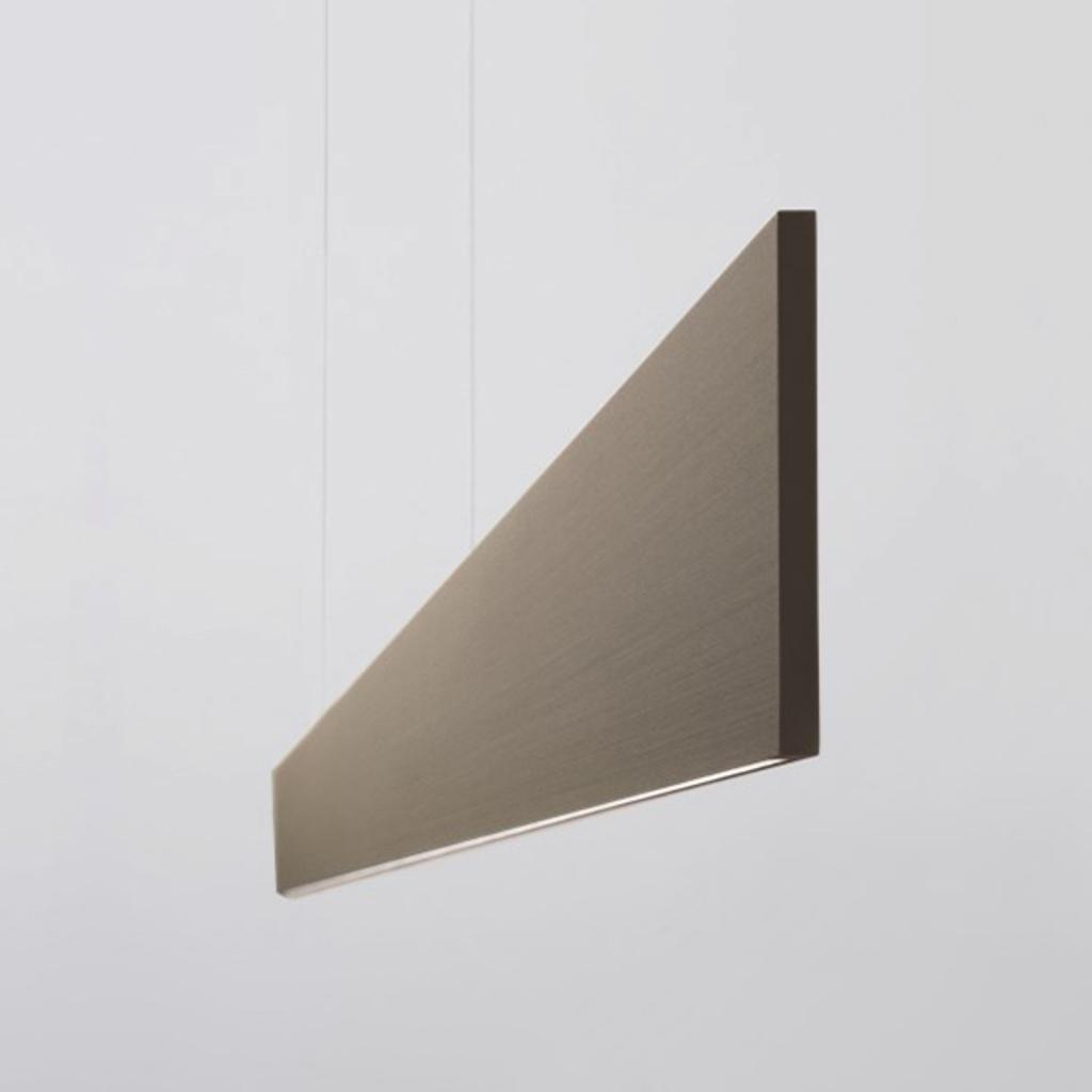 Produktové foto Molto Luce LED závěsné světlo After 8 122cm DALI 4000K bronz