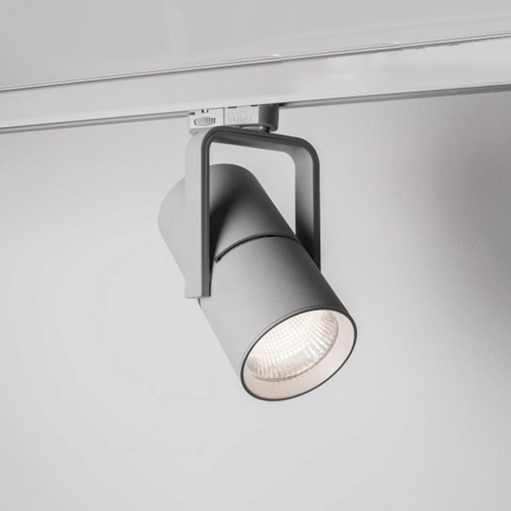 Produktové foto Molto Luce 3fázový reflektor 2 Go Track 27W 17° 3000K stříbro