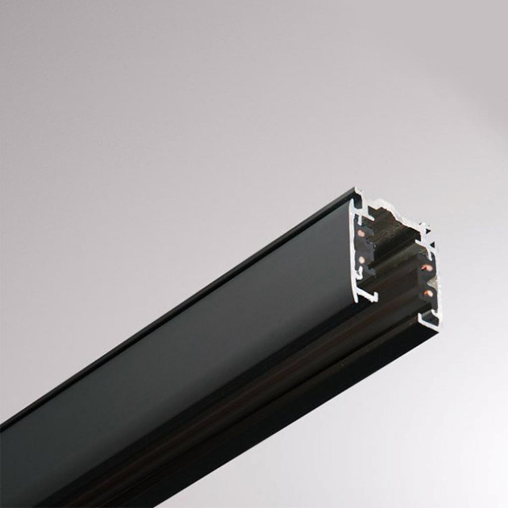 Produktové foto GLOBAL 3fázová přípojnice Noa hliník 100cm, černá