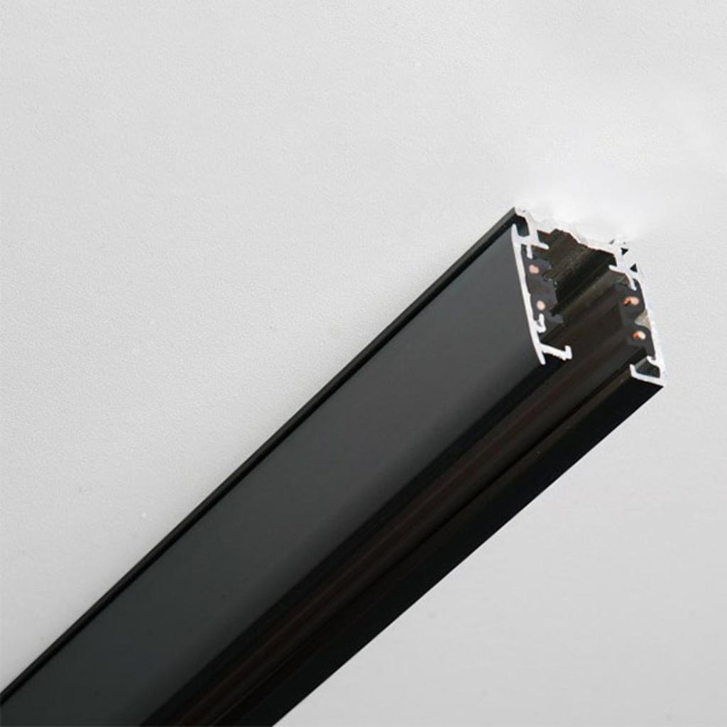 Produktové foto GLOBAL 3fázová přípojnice Noa hliník 200cm, černá