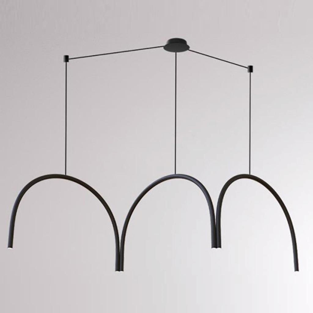 Produktové foto LOUM LOUM Arkade Systém LED závěsné světlo, tři oblouky