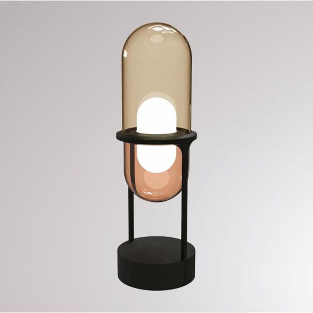 Produktové foto LOUM LOUM Pille LED stolní lampa šampaňská/měď