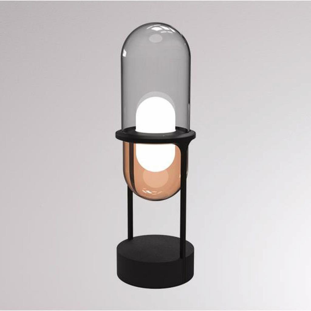 Produktové foto LOUM LOUM Pille LED stolní lampa šedá/měď