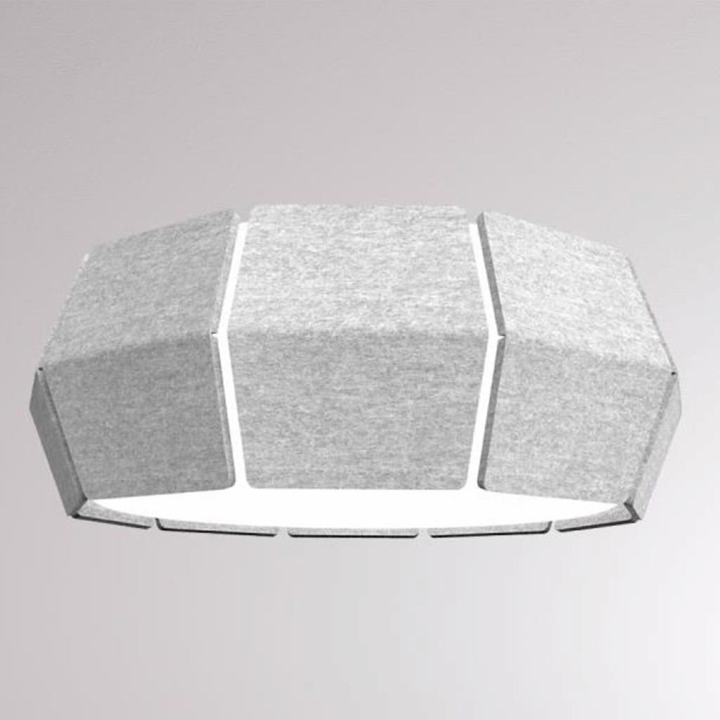 Produktové foto LOUM LOUM Decafelt LED stropní světlo Ø 54 cm šedá