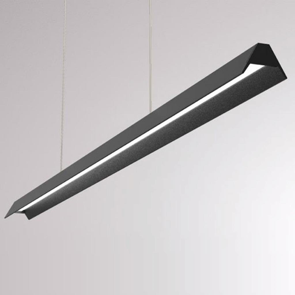 Produktové foto LOUM LOUM Uto LED závěsné světlo kovové stínidlo černá